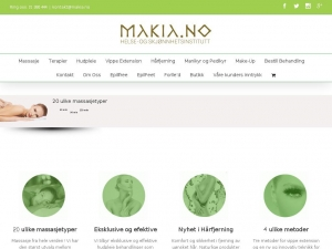 Makia beauty salon - the best place in Norway